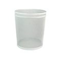 High Quality White Round Decorative Metal Punched Vines Waste Bin