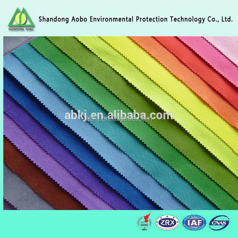 wide varieties needle punched non-woven latest technology colorful 100% wool felt