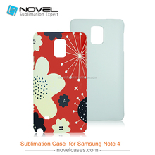 3D Sublimation Blank Phone Case for Samsung Note4,Customized Cover
