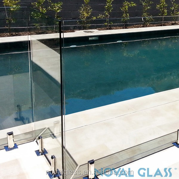 High quality 6.38mm 8.38mm 10.38mm 12.76mm tempered laminated glass fence panels
