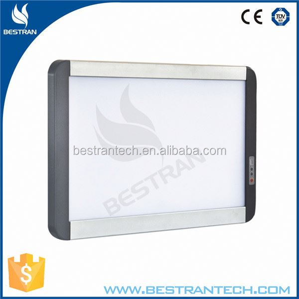 BT-VLED2T CE ISO Approved LED adjustable hight brightness medical led x ray film viewer
