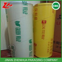 safety good elasticity plastic wrap pvc stretch packing cling film for cooking