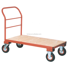 Warehouse Trolly Flatbed Transportation Trolly Distribution Cart