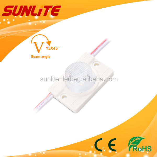 LED SIDE LIGHT MODULE high power injection led module using double side light box with CE RoHS