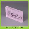 Company Brand Name Plate Blocks Transparent