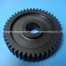 Custom made PA66 Nylon machined injected gear wheel plastic nylon tooth gears