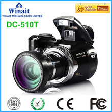 Winait 2017 hot sale DC-510T digital camera with Max 16Mega pixels 10 Second Self Timer 16 bit color display compatible display