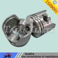 auto spare parts cast aluminum part motorcycle piston kit