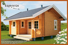 Prefabricated Small Wooden Chalet In Pine Wood