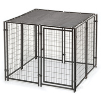 Wholesale Kennel With two doors large animal cage huilong factory