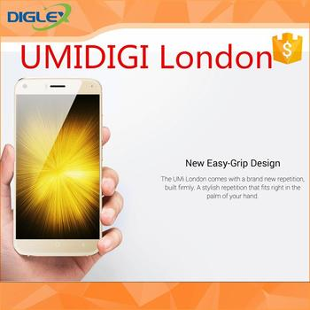 2017 [HK Stock][Official Global Version] wholesale UMIDIGI LONDON with CE certificate 16gb black cellphone