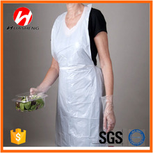 Wholesale Plastic PE Disposable Apron for Kitchen Use