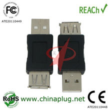 F to m 180 angle usb male female plug
