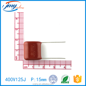 High quality Metallized Film Capacitors 400V 125J 20MM wholesale online