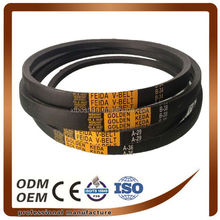 long life anti oil and heat industrial machine drive v belt Z,A,B,C,D,E(wrapped v belt)