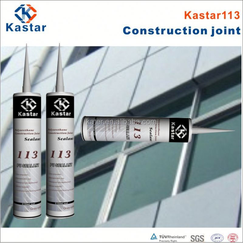 black construction polyurethane windshield sealant