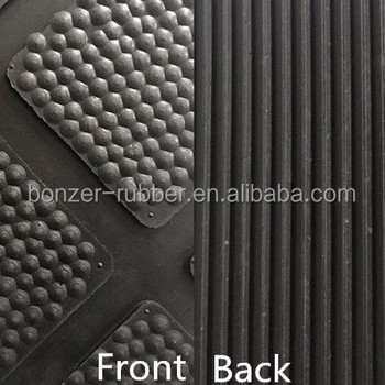 High quality black dairy cow rubber mats