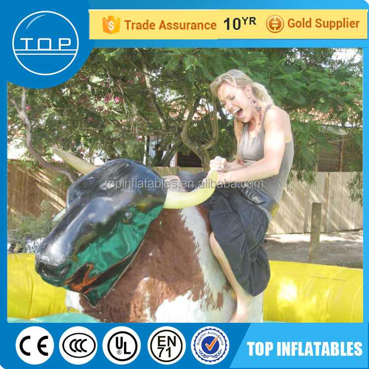 Golden Supplier for hot sale inflatable mechanical bull riding toys China suppliers
