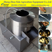 commercial potato peeling machine/sweet potato peeler machine/carrot washing machine