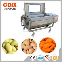 High Capacity Stainless Steel Carrot Washing Machine/Potato Washing Peeling