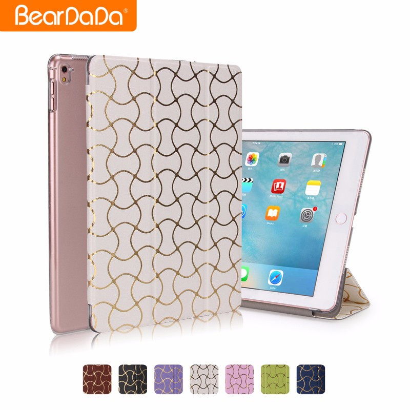 High Quality Design for ipad pro. 9.7 leather smart case