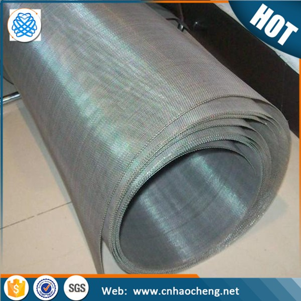 High electrical conductivity 100 200 mesh pure nickel wire mesh netting for electronics