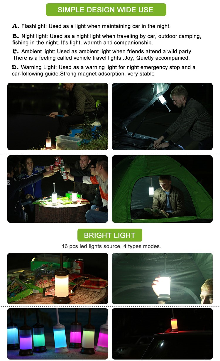 Gold Supplier Led Portable Travel Lights