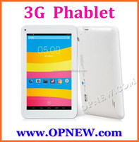 7 inch MTK6282 QuadCore 3G phone call tablet pc dual sim 850/2100 HD Screen Bluetooth Wifi