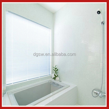 Modern design pattern embossed bathroom waterproof roller window blinds buy retractable window - Bathroom shades waterproof ...