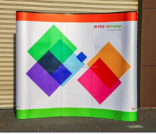 Whlesale Cheap backdrop Photo booth exhibition tradeshow advertising stand