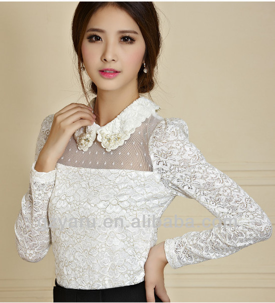 Ladies Semi Formal Women Sexy Tops And Blouses Cheap - Buy Women ...