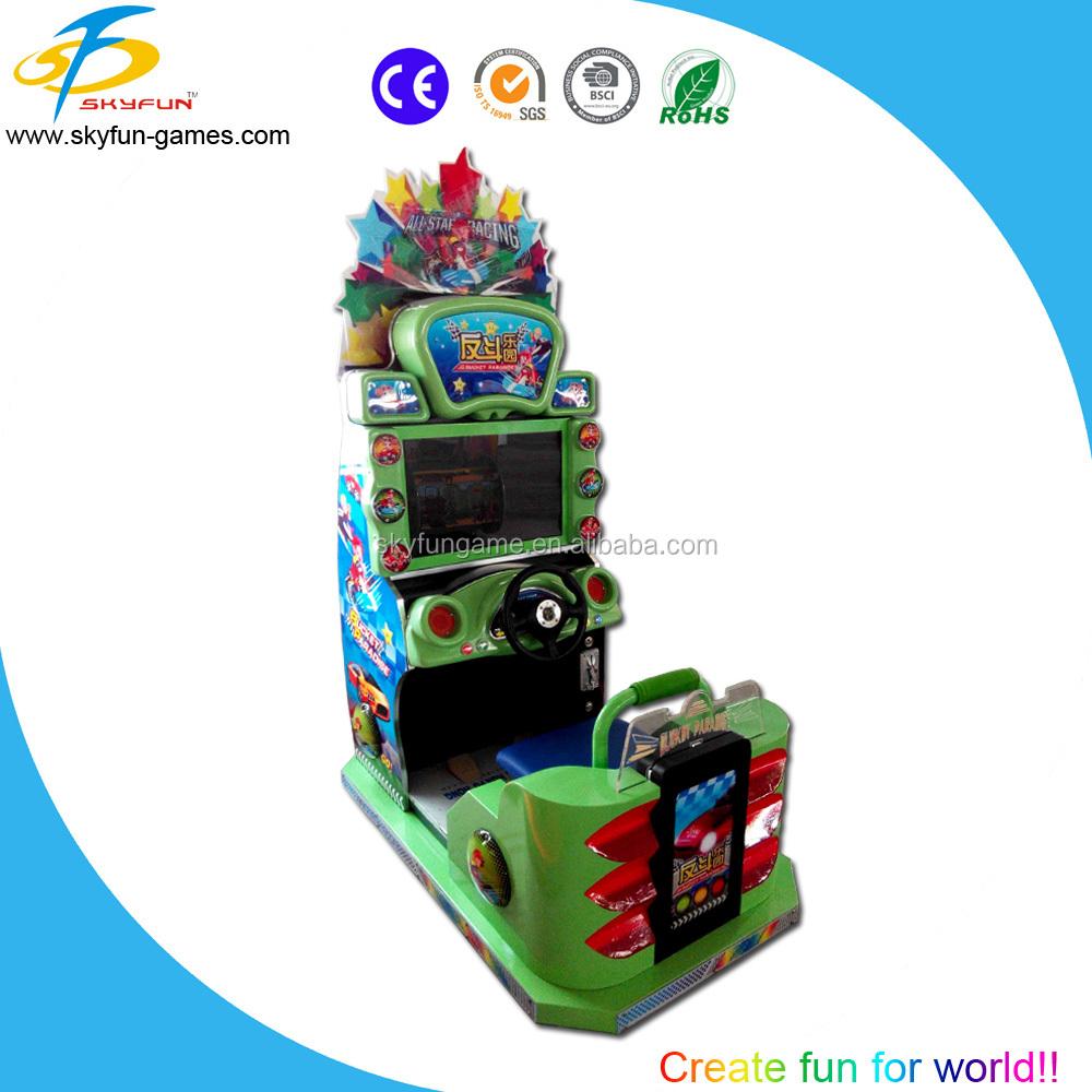 Simulator Arcade Car Racing Game Machine Pedal Car Racing Machine ...