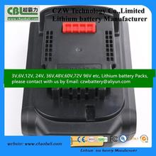 power tool Dewalt battery 14.4v with Ni-MH battery replacement for cordless tool battery