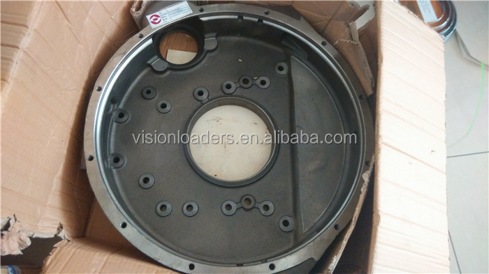 SDLG Wheel Loader Spare Parts , ShangChai Engine C6121 Spare Parts Fly Wheel Housing , C92AL001(C9124002318) For Sale