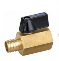 1/4'' female with hose barb ball valve , brass body bear high pressure and good sealing