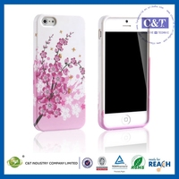 Classic Design glow in the dark silicone case for iphone 5c