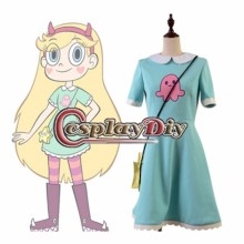 Star vs. the Forces of Evil Princess Star Butterfly Fancy Dress Girls Cosplay Costume