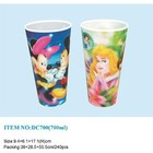 Custom OEM Factory Sublimation Printed 3D Lenticular Hot Drink Plastic Cup