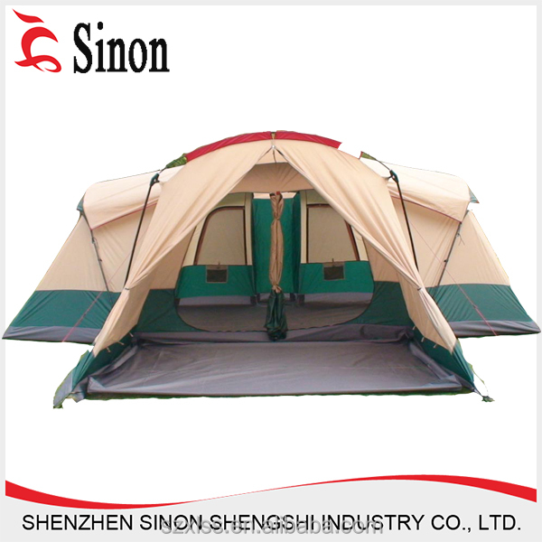 3 room glamping outdoor family tent party camping tent