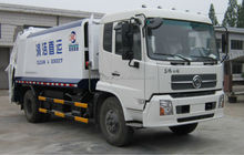 Garbage compactor truck for sale