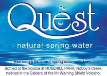 QUEST NATURAL SPRING WATER