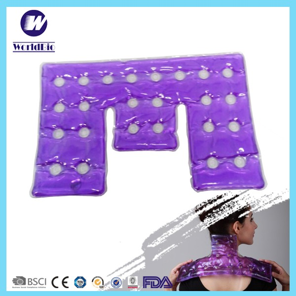 Reusable shoulder neck magic gel heat pad click hot pack