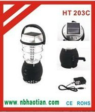 36 LED Solar Camping Lantern with Hand Crank