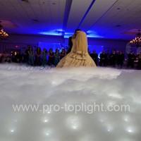 White star light up portable led dance floor