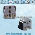 WD-6 CE Approved 2 Pin Plug Adapter/Plug Socket