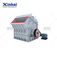 large capacity impact crusher machine for metal industry