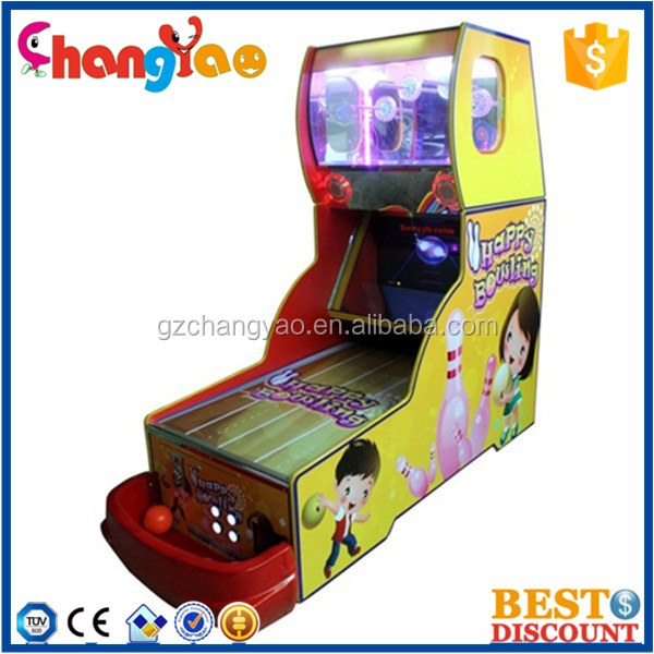 Arcade Bowling Machine For Sale Kids Amusement Park Equipment Lottery Sport Coin Operated