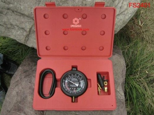 2014 Vacuum & Fuel Pump Pressure Test Gauge Set Car Diagnostic Tools electronic motor brake OEM
