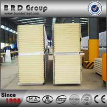 Decorative sandwich panels polyurethane wall panels earthquake resistant building material