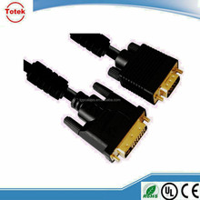 DVI-D cable dual link DVI 24+1 cable male to male
